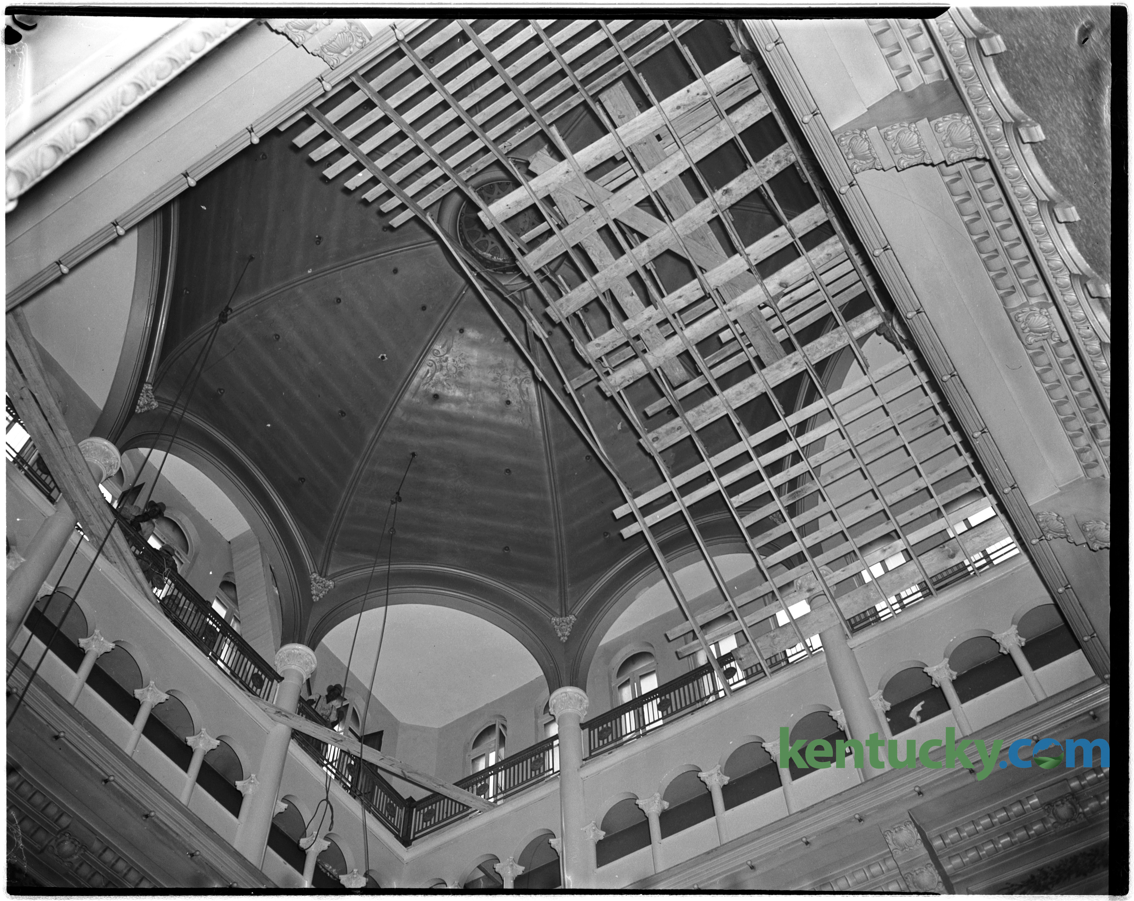 Fayette County Courthouse Dome 1944 Kentucky Photo Archive