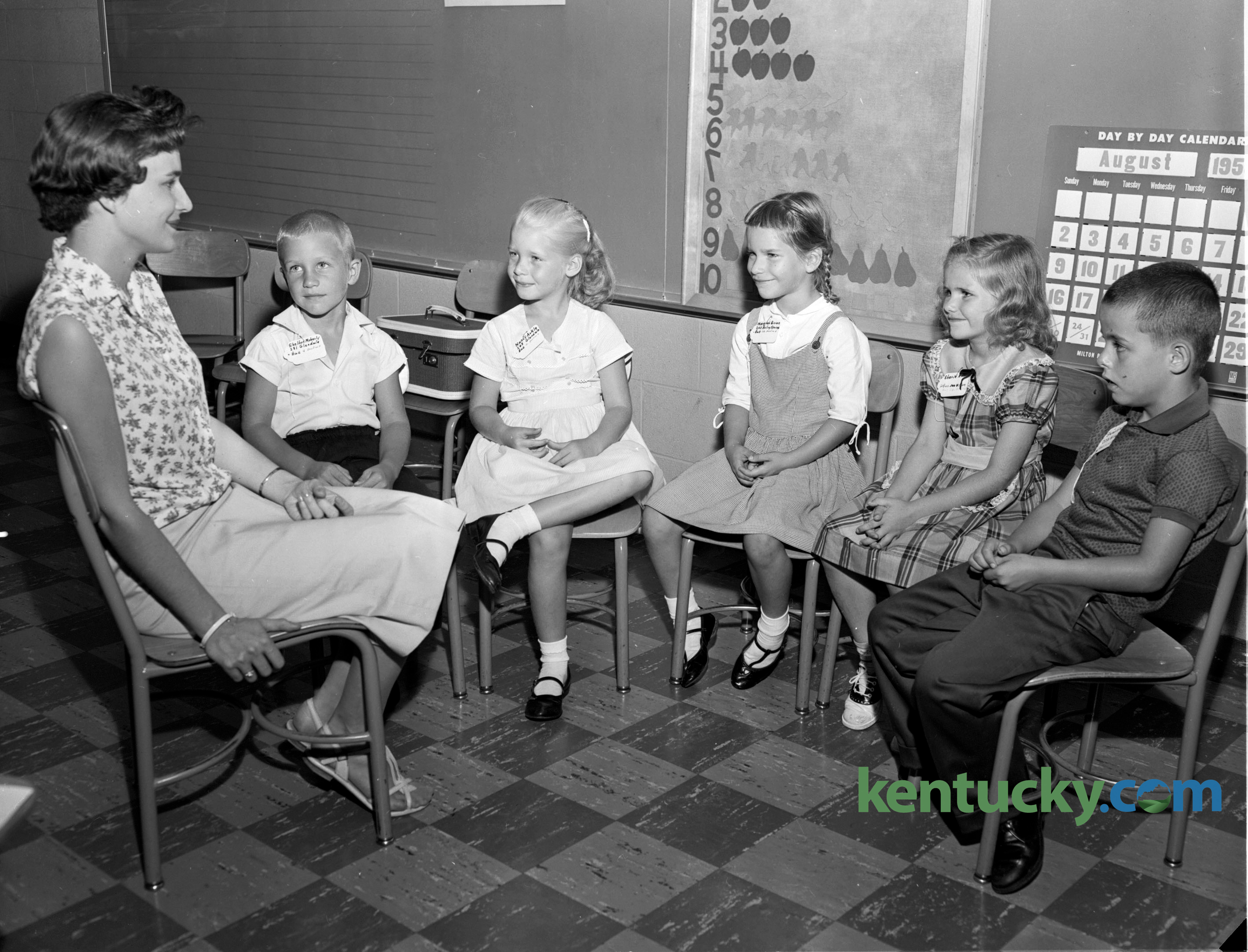 First Day Of School 1959 Kentucky Photo Archive