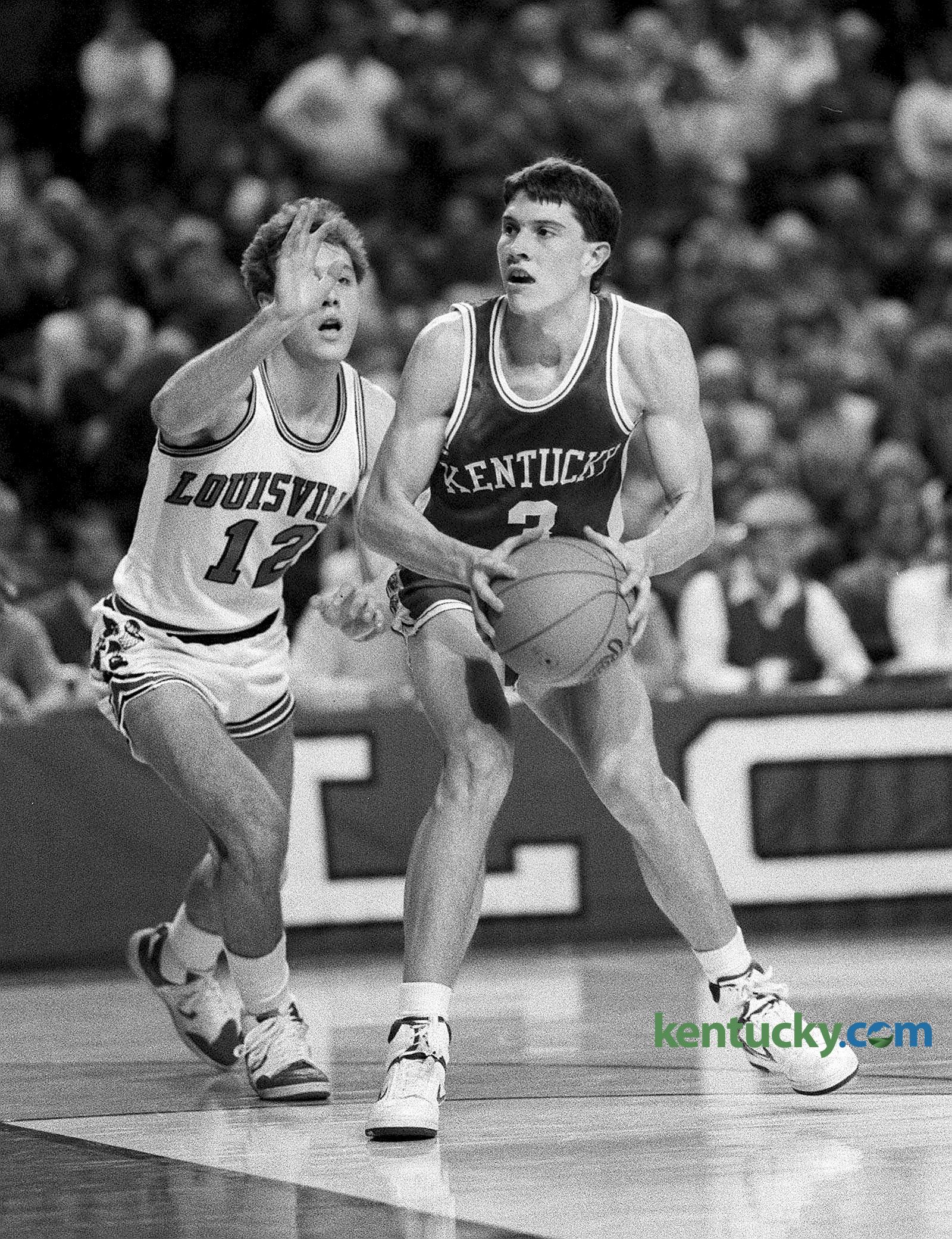 Freshman Rex Chapman scorches Louisville 1986