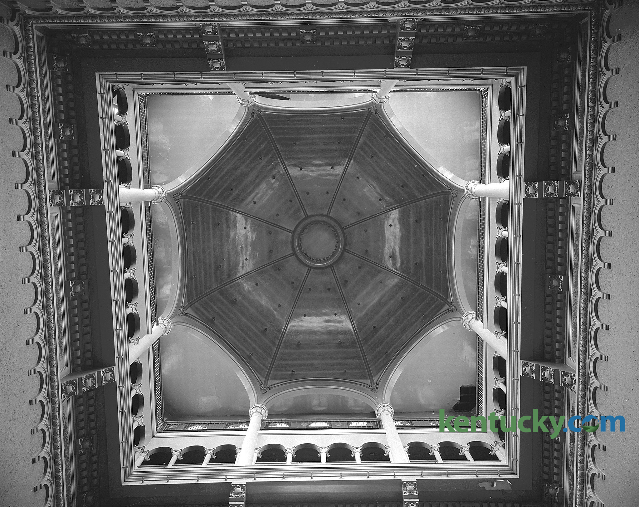 Fayette County Courthouse 1960 Kentucky Photo Archive