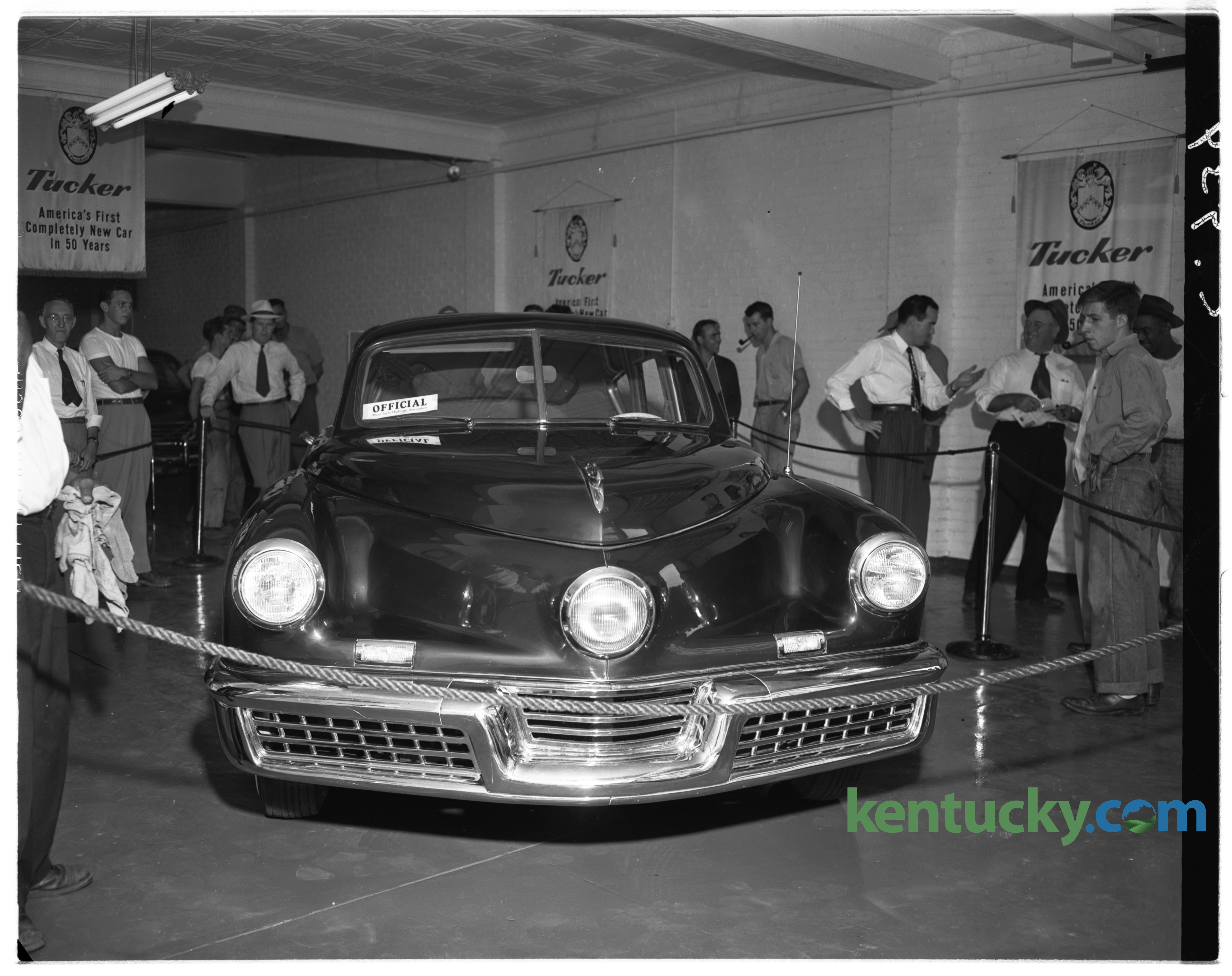 A Tucker 48, 1948 | Kentucky Photo Archive