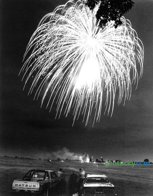 In 1982 Lexington Fourth of July fireworks were held at Masterson Station Park. Photo by E. Martin Jessee | Staff