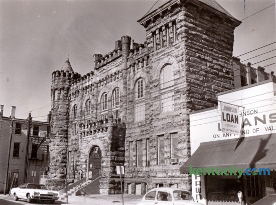 Old Fayette County Jail 1977 Kentucky Photo Archive