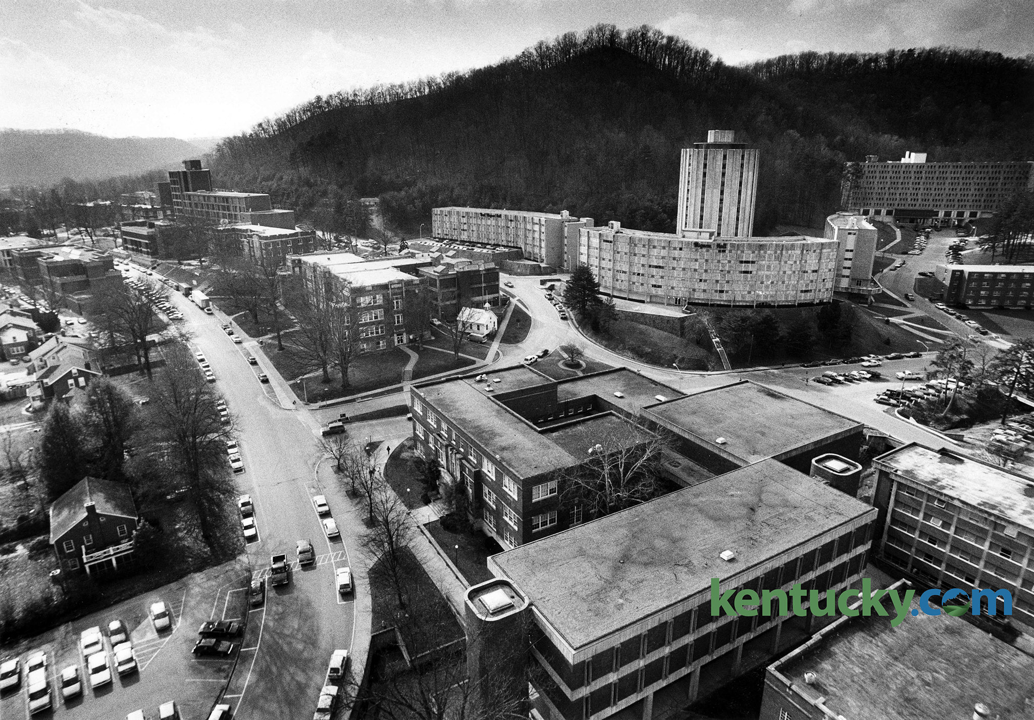 morehead state university campus 1991 kentucky photo archive