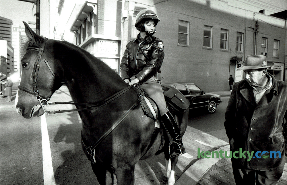 how to become a mounted police officer
