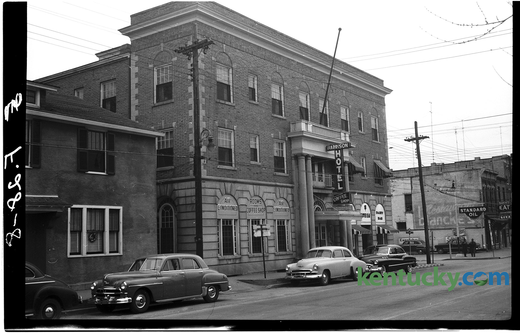 The Harrison Hotel On Dowtown Cynthiana S Main Street January 1951 Note Building