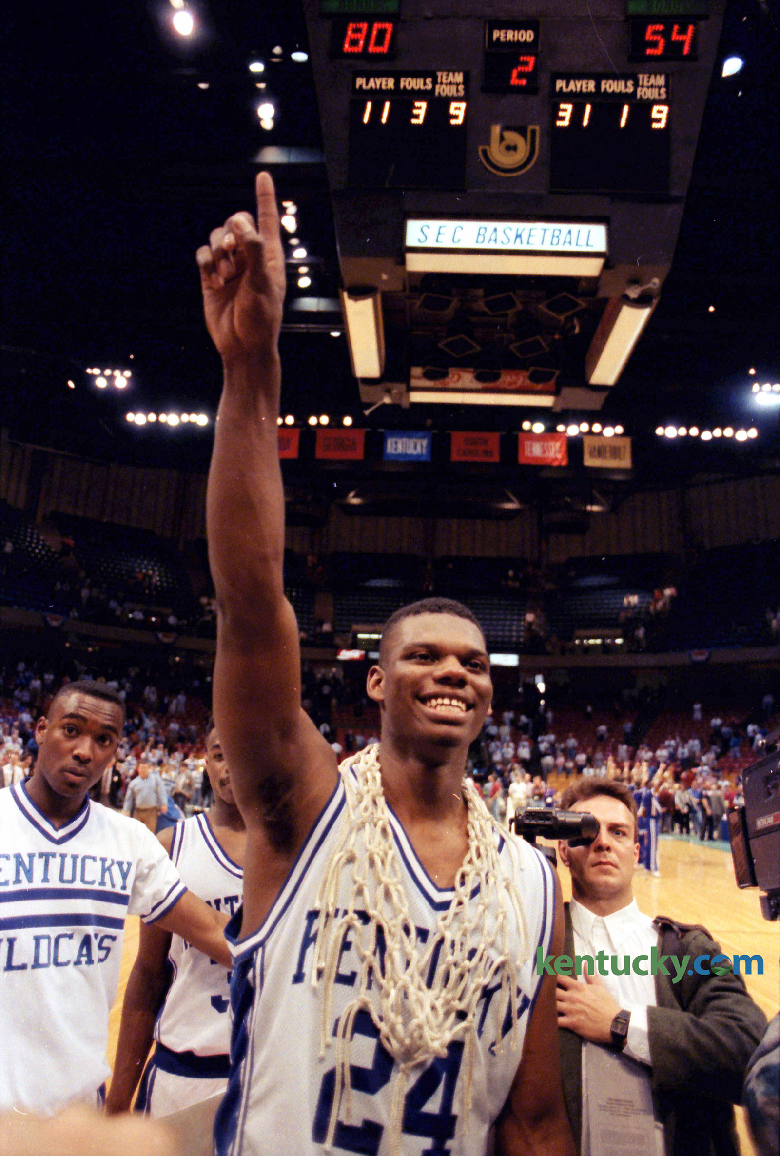 Jamal Mashburn SEC Tournament MVP 1992