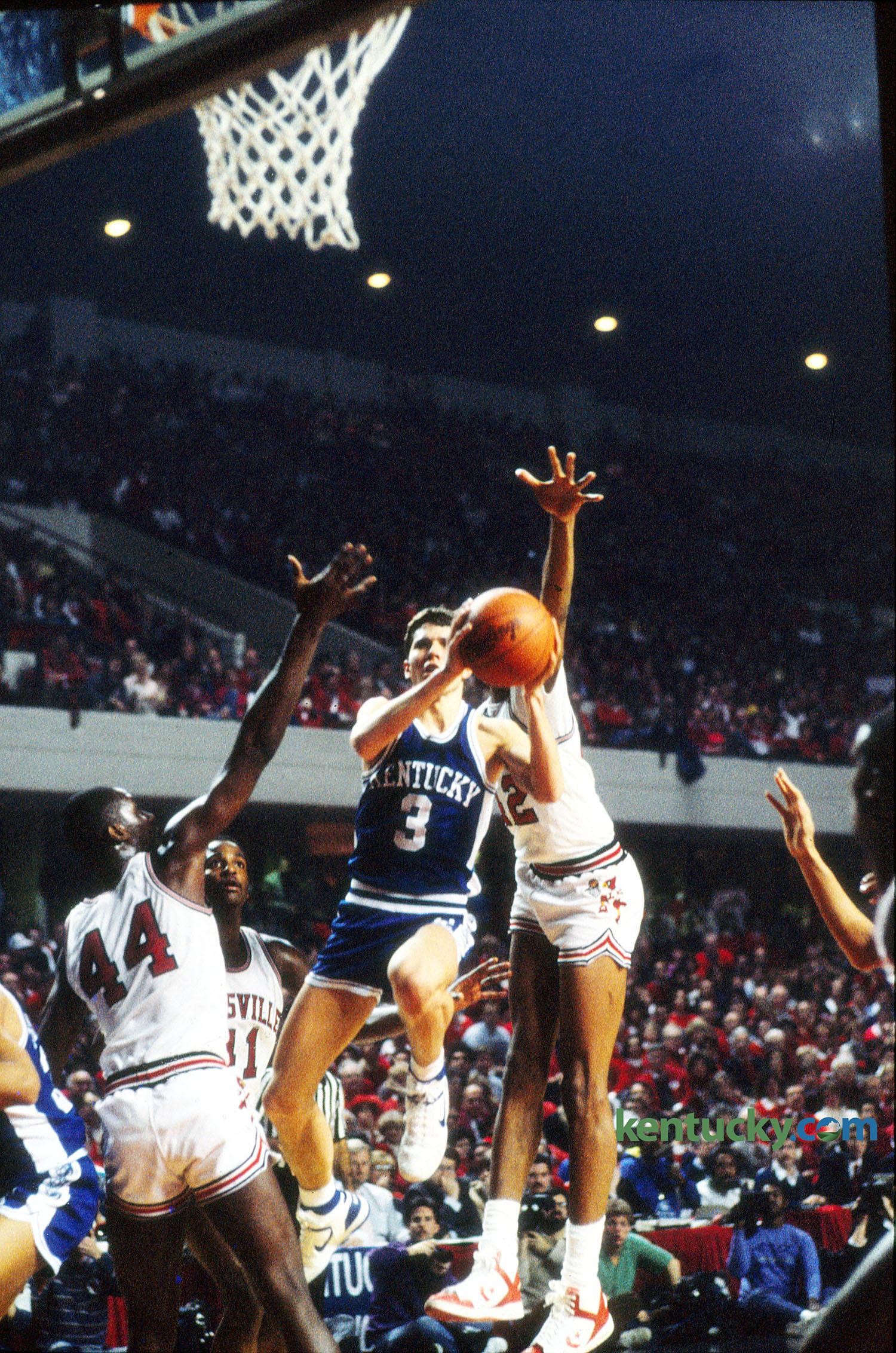 Kentucky basketball s Rex Chapman 1986